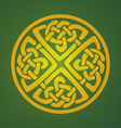 Celtic ornament symbol vector image