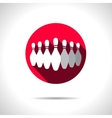 skittles icon Eps10 vector image