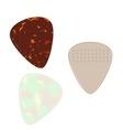 Guitar Pics vector image