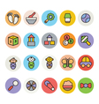 Baby Icons 6 vector image