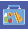 Lunchbox vector image