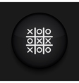 Tic tac toe icon Eps10 Easy to edit vector image