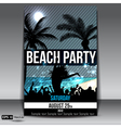 Beach Party vector image vector image