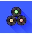 Disc Icon vector image