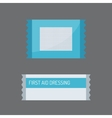 Patch plaster vector image