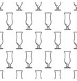 seamless pattern from icon of hurricane glass vector image
