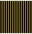 Yellow and black stripes background vector image