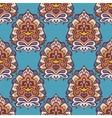 seamless vintage damask pattern design vector image