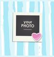 photo frame birthday vector image