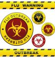 flu outbreak vector image