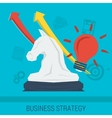 Business concept STRATEGY vector image