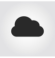 Cloud icon flat design vector image vector image