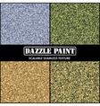 Military dazzle paint Camouflage Set vector image