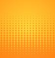 Orange Halftone Pattern vector image