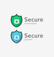 Secure connection icon vector image