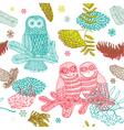 owls vector image