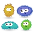Cartoon funny monsters vector image
