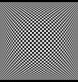 chequered pattern vector image