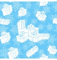 Winter holidays presents vector image