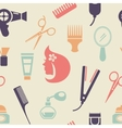 Colored Barbershop Pattern vector image