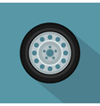 flat wheel 2 vector image