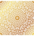 Seamless background pattern the eastern style vector image