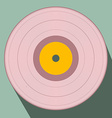 Flat Design Retro Vinyl Record vector image