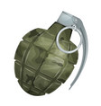 military grenade vector image