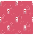 Seamless Pattern Mobile Devices vector image