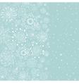 light blue vertical cristmas background vector image