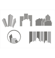 Construction real estate icons vector image vector image