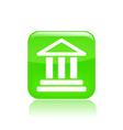temple icon vector image vector image
