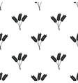 Wheat ears pattern vector image