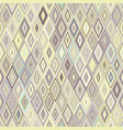 seamless geometric pattern of rhombus vector image