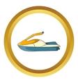 Jet ski icon vector image