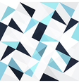 blue triangles seamless vector image vector image