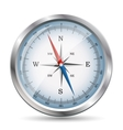 Glossy Compass vector image