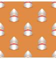 bowling pins seamless pattern vector image