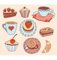 Cartoon coffee vector image