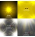 Summer sun light burst If you enjoy the hot and vector image