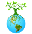 Clear earth vector image vector image