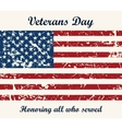 brochure poster templates in veterans day vector image