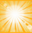 abstract sun background vector image vector image