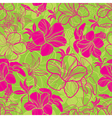 floral semaless pattern bright 1 vector image vector image