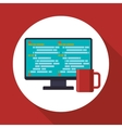 Development and software design vector image