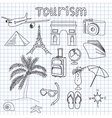 tourism vector image vector image