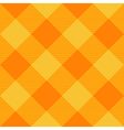 Yellow Orange Diamond Chessboard Background vector image