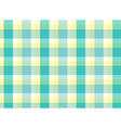 A topview of a checkered table mat vector image