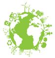 Green Planet Environment vector image