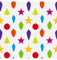 Abstract Beauty Christmas and New Year Seamless vector image